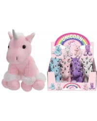 12 X Sitting Plush Unicorns 6