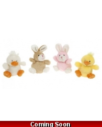 Image of 24 x Plush Easter Mini Rabbit and Chick 3