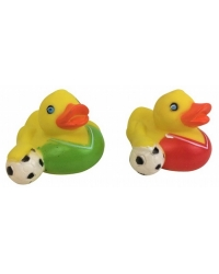 Image of 12 x Football Rubber Ducks