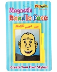 Image of 12 x Magnetic Doodle Face Drawing Boards
