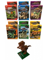 Image of 24 x Dinosaur Building Brick Kits