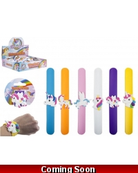 Image of 12 x Unicorn Silicone Snap Bracelets