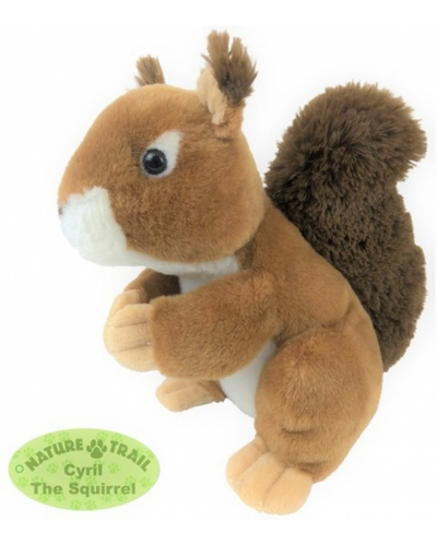 6 X Plush Cyril The Squirrel 18cm