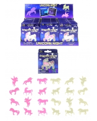 Image of 24 x Glow In The Dark Unicorns 24 pk