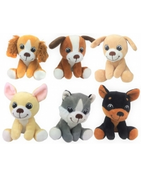 Image of 12 x Plush Puppies 15cm