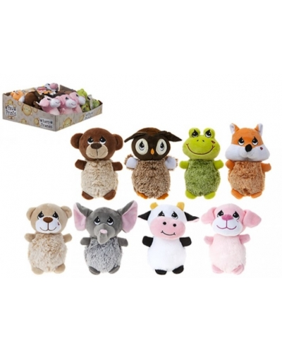 12 x Plush Cute Animal Babies