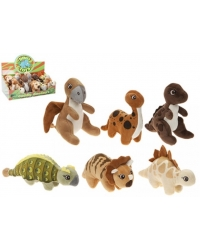 Image of 12 x Plush Cute Dinosaur Babies