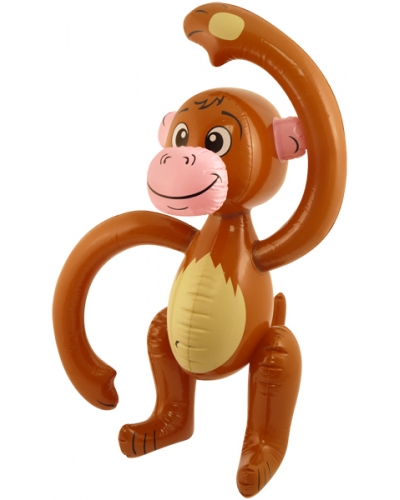 6 x Inflatable Monkey 58cm