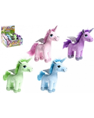 12 X Standing Plush Unicorns 7""