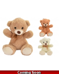 Image of 12 x Plush Teddy Bears 20cm