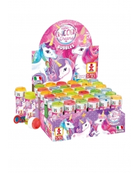 Image of 36 x Unicorn Bubble Tubs 60ml