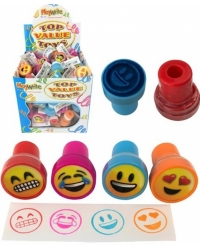 120 x ToyMoji Ink Stampers