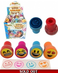 Image of 120 x ToyMoji Ink Stampers
