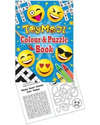 Image of 24 x ToyMoji A6 Colour & Puzzle Books