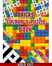 Image of 24 x Bricks A6 Colour & Puzzle Books