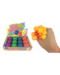 Image of 12 x Squishy Mesh Balls 6cm