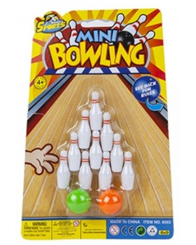 24 x Mini Ten Pin Bowling Games