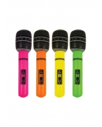 Image of 12 x Inflatable Microphones 40cm