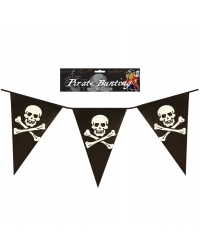 Image of 12 x Triangular Pirate Bunting 12ft