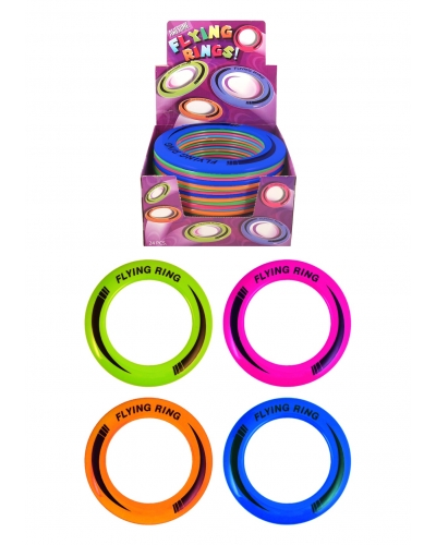 24 x Flying Disc Rings 25cm