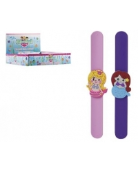 Image of 24 x Mermaid Silicone Snap Bracelets