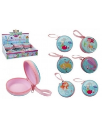 Image of 12 x Mermaid Round Coin Purses