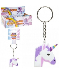 Image of 48 x Unicorn Silicone Keyrings