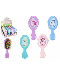 Image of 24 x Unicorn Mini Hair Brushes