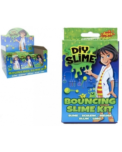 24 x DIY Bouncing Slime Kit