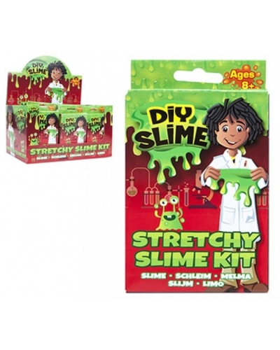 24 x DIY Stretchy Slime Kit