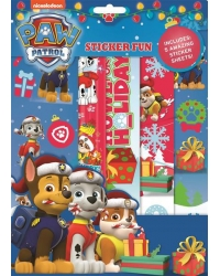 12 x Paw Patrol Christmas Sticker Fun ..