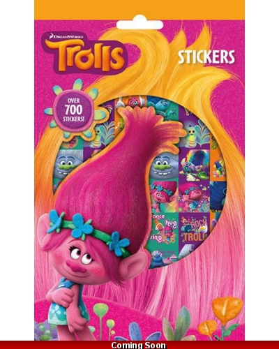 12 x Trolls 700 Stickers