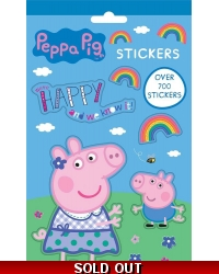 Image of 12 x Peppa Pig 700 Stickers