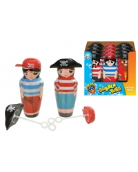 Image of 12 x Jumbo Pirate Bubble Tubs 14cm