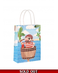Image of 24 x Pirate Paper Party Bag W/Handles