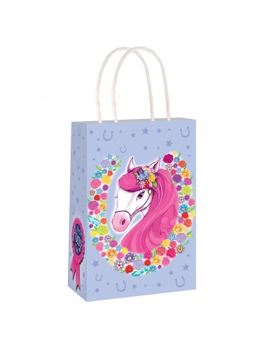 24 x Pony Paper Party Bag W/Handles