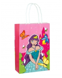 Image of 24 x Princess Paper Party Bag W/Handles