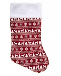 Image of 12 x Red Nordic Stocking 18