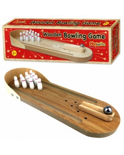 6 x Wooden Bowling Games