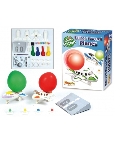 6 x Balloon Powered Jet Plane Kits