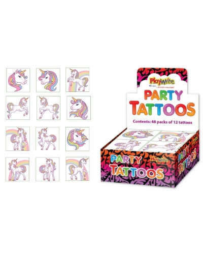 576 x Unicorn Tattoos