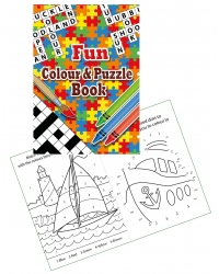 Image of 24 x Fun A6 Colour & Puzzle Books
