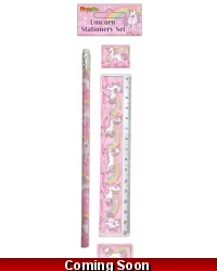 Image of 24 x Unicorn Stationery Sets