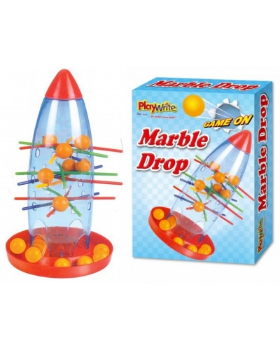 12 x Marble Drop Rocket Games