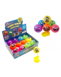 Image of 12 x Smiley Face Ball Slime Suckers
