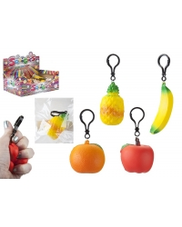 Image of 36 x Fruit Squigies On Key Clips
