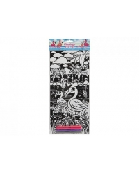 Image of 24 x Flamingo Velvet Art Colouring Pictures