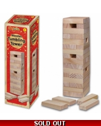 Image of 12 x Wooden Tower Game