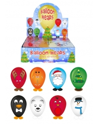 Image of 240 x Christmas Balloon Heads