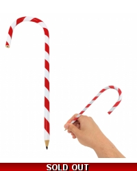 Image of 24 x Candy Cane Christmas Pencils